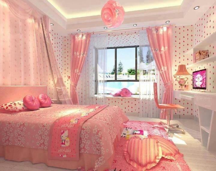 rèm phòng ngủ đẹp bé gái