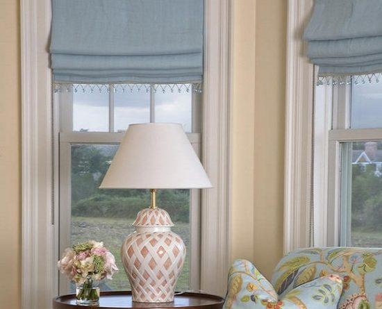 rèm cửa sổ-rèm roman